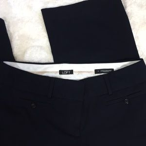Loft Ann Taylor Blue Marisa Trouser Size 8